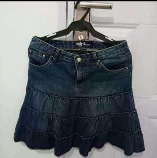 🌸Denim skirt