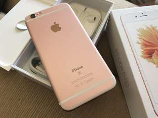 Iphone6s plus 128gb玫瑰金