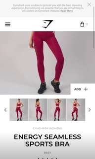 BRAND NEW** gymshark sports bra