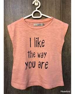 SFERA graphic shirt, size 4-5 yrs