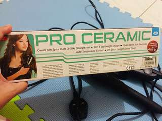 Pro ceramic straightening  & con air curler all in na po