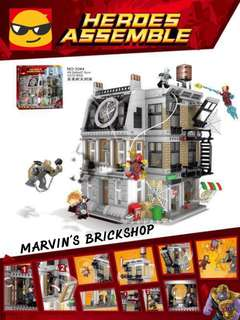 SY 1044 Avengers Infinity War Sanctum Sanctorum Showdown Building Blocks Toy