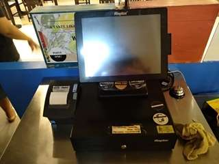 Raptor POS system - cashier machine