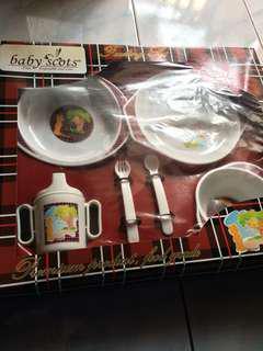 Tempat makan bayi