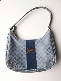 Authentic Liz Claiborne Blue Shoulder Bag
