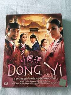 Korean Drama DVD - Dong Yi 同伊
