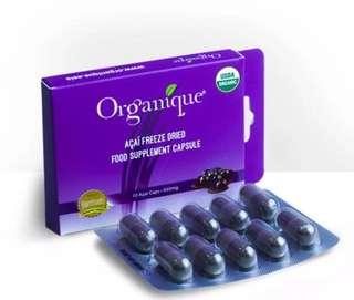 Organic Acai Berry Capsule