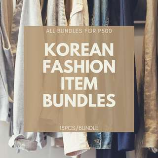 Korean Fashion Bundle 15pcs