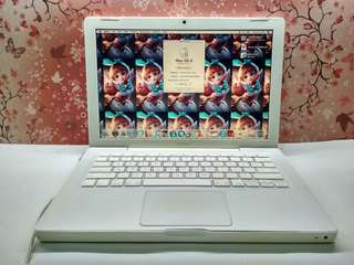 MacBook White PRO 2010 RAM 4GB MINUS BATERAI