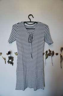Unbranded Stripes Bodycon Dress
