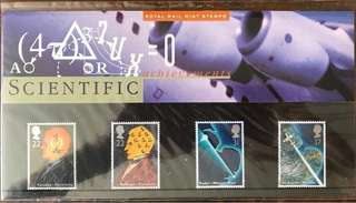 Royal Mail MINT STAMPS - Scientific 郵票