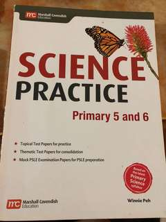Science Practice Book for Pri 5 & 6