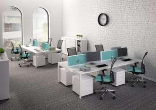 Office furniture workstation table divider desk