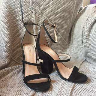 Kookai strap heels sz36