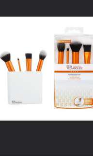 FREE POST AUTHENTIC W RECEIPT Real Techniques Flawless Base Makeup Brush Set #wincookies