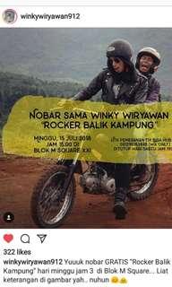 Free tiket nobar Winky Wiryawan di film terbarunya