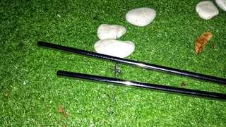 stainless straw - sedotan