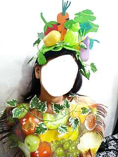 Headdress Nutrition Month Costumes