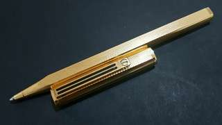 DUNHILL Dress Gold Plated Balloint Pen