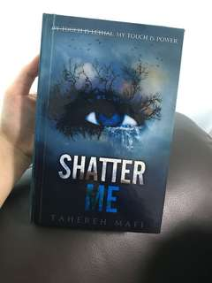Shatter me hardcover