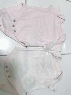 Mothercare 2pcs rompers