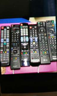 selling all tv remote control at a good price