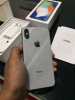 Iphone X 256gb Silver Garansi Resmi Indonesia Erafone Like New
