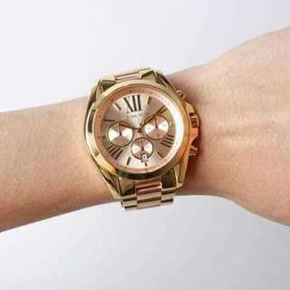 Michael Kors Bradshaw Chronograph Ladies Watch Item No. MK6359‎  Available in midsized only original