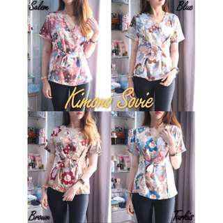 New Kimono Trendi Wanita Cewek Maxmara Motif