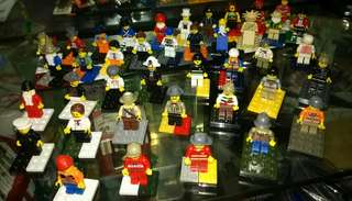 Lego like miniatures 40pcs take all