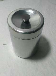 New coffee canister storage tin