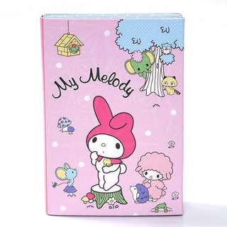 🌟BN INSTOCKS Melody Pink Folded Book Adorable Sticky Memo Pad