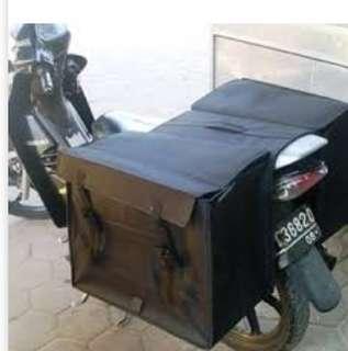 Tas motor buat bawa barang belanjaan ngk ribeut lebih simpell