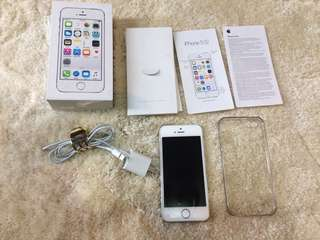 Authentic Iphone 5s smartlocked 16GB With Box
