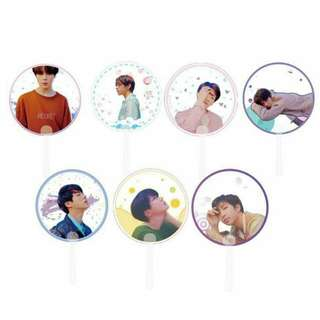 [PREORDER] BTS Transparent Hand Fan