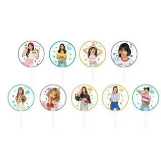 [PREORDER] Twice Transparent Hand Fan