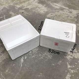 $3 each 2nd hand Styrofoam Box 52cm x 37cm x 34cm  Meet at Tampines blk 851