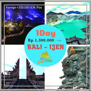 BALI - IJEN 1DAY PP