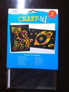 Scratch Art Sheets
