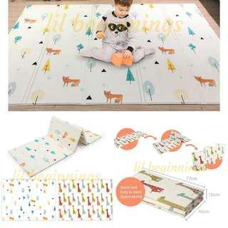 🚚 Play Mat Folding - 150x200cm (Reversible, Portable Playmat)