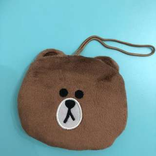 Line Brown環保袋
