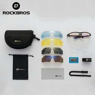Rockbros 5 lenses sport sunglasses