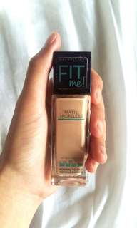 Maybelline Fit Me Foundation Shade 122