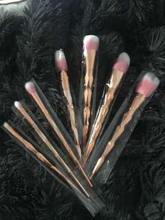 Rose Gold Makeup Brushes ✨