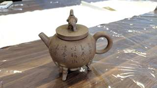 Antique teapots - heirloom