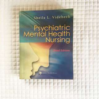 Psychiatric Mental Health Nursing Textbook