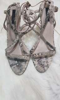 Sendal heels Zara