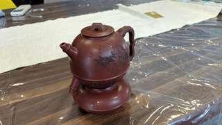 Antique dual teapots - Heirloom