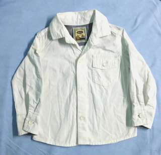 Grizzly's Original White long sleeves