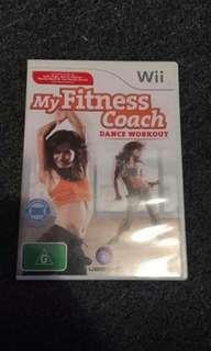 My fitness coach wii